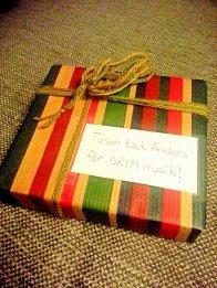 ładnie zapakowany prezent